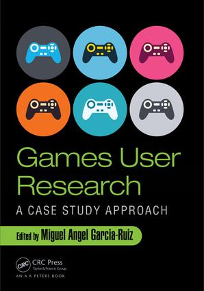 Games User Research: A Case Study Approach book cover