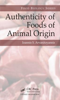 Authenticity of Foods of Animal Origin book cover