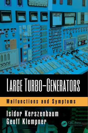 Large Turbo-Generators: Malfunctions and Symptoms, 1st Edition (Hardback) book cover