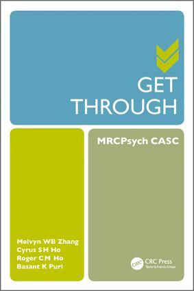 Get Through MRCPsych CASC book cover