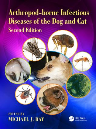 Arthropod-borne Infectious Diseases of the Dog and Cat: 2nd Edition (Hardback) book cover