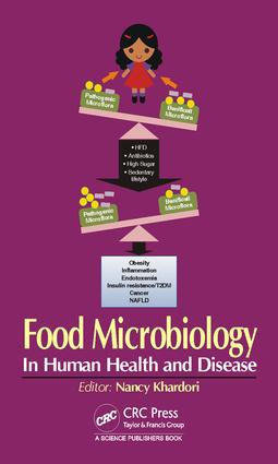 Food Microbiology: In Human Health and Disease, 1st Edition (Hardback) book cover