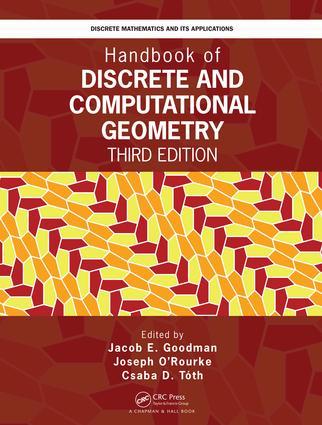 Handbook of Discrete and Computational Geometry: 3rd Edition (Hardback) book cover