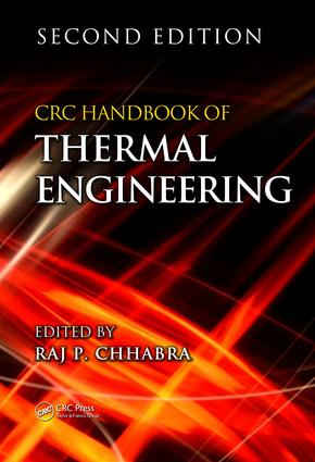 CRC Handbook of Thermal Engineering book cover