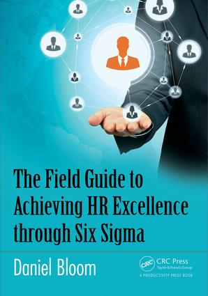The Field Guide to Achieving HR Excellence through Six Sigma: 1st Edition (Paperback) book cover
