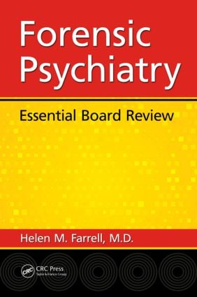 Forensic Psychiatry: Essential Board Review, 1st Edition (Paperback) book cover