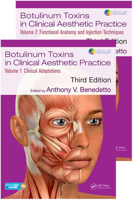 Botulinum Toxins in Clinical Aesthetic Practice 3E: Two Volume Set book cover