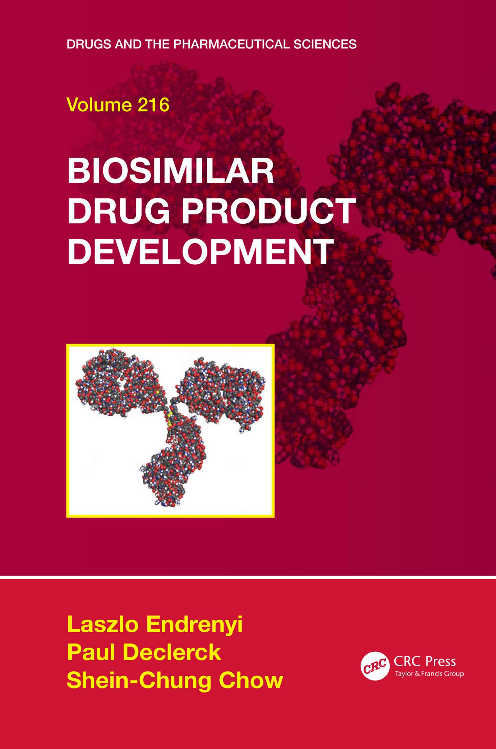 Biosimilar Drug Product Development book cover