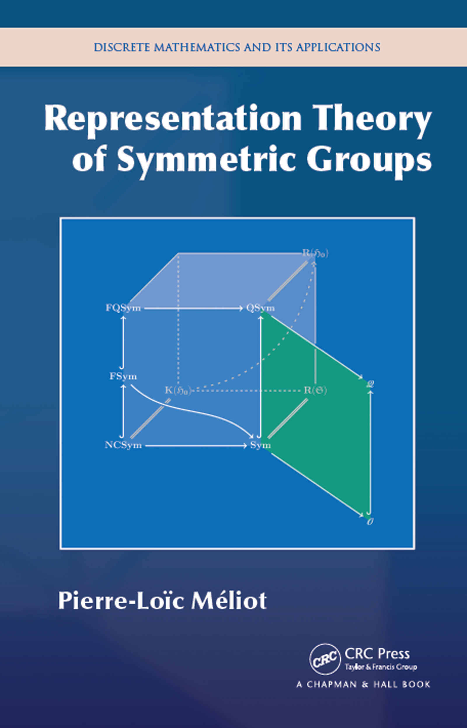 Representation Theory of Symmetric Groups: 1st Edition (Hardback) book cover
