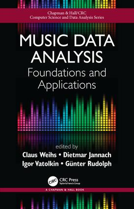 Music Data Analysis: Foundations and Applications (Hardback) book cover