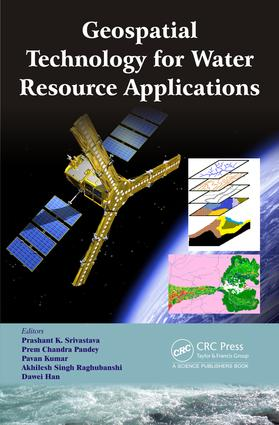 Geospatial Technology for Water Resource Applications book cover