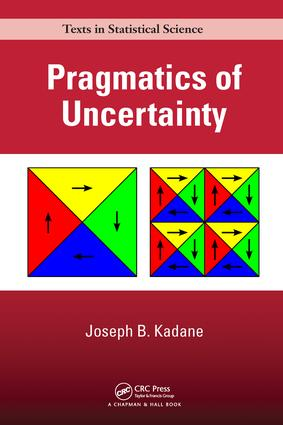 Pragmatics of Uncertainty book cover