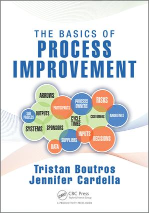 The Basics of Process Improvement: 1st Edition (Paperback) book cover