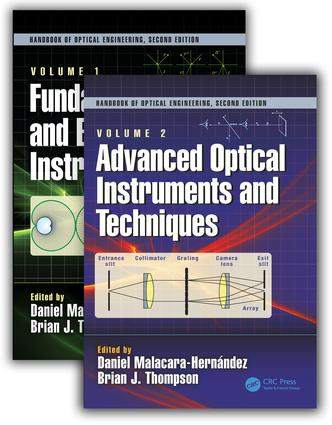 Handbook of Optical Engineering, Second Edition, Two Volume Set book cover