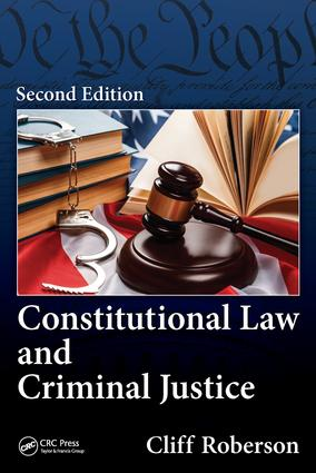Constitutional Law and Criminal Justice book cover