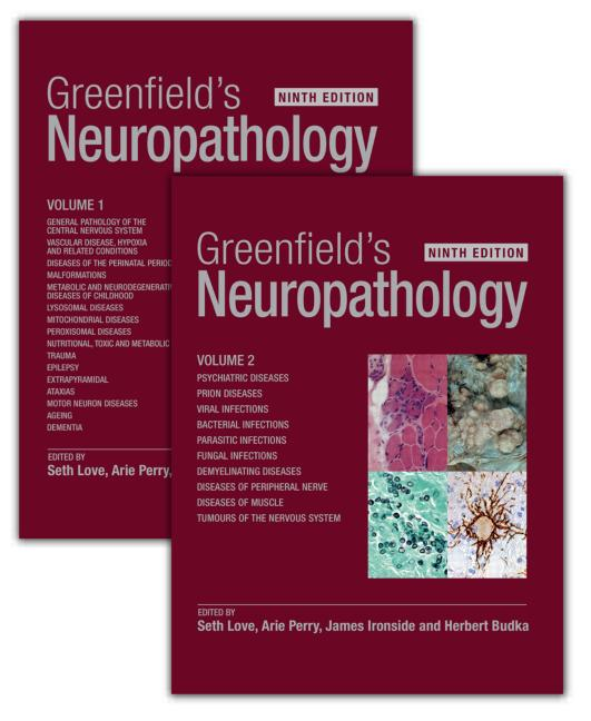 Greenfield's Neuropathology - Two Volume Set: 9th Edition (e-Book) book cover