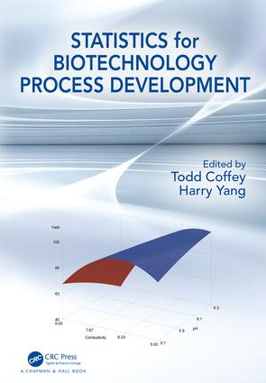 Statistics for Biotechnology Process Development: 1st Edition (Hardback) book cover