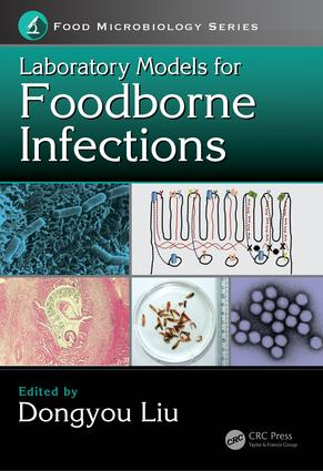 Laboratory Models for Foodborne Infections: 1st Edition (Hardback) book cover