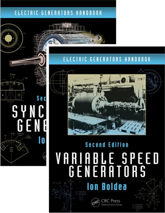 Electric Generators Handbook - Two Volume Set: 2nd Edition (Hardback) book cover