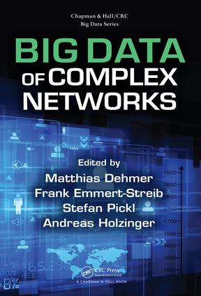 Big Data of Complex Networks: 1st Edition (Hardback) book cover