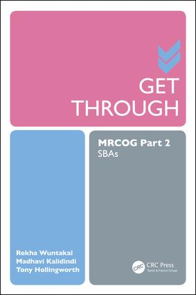 Get Through MRCOG Part 2: SBAs, 1st Edition (Paperback) book cover