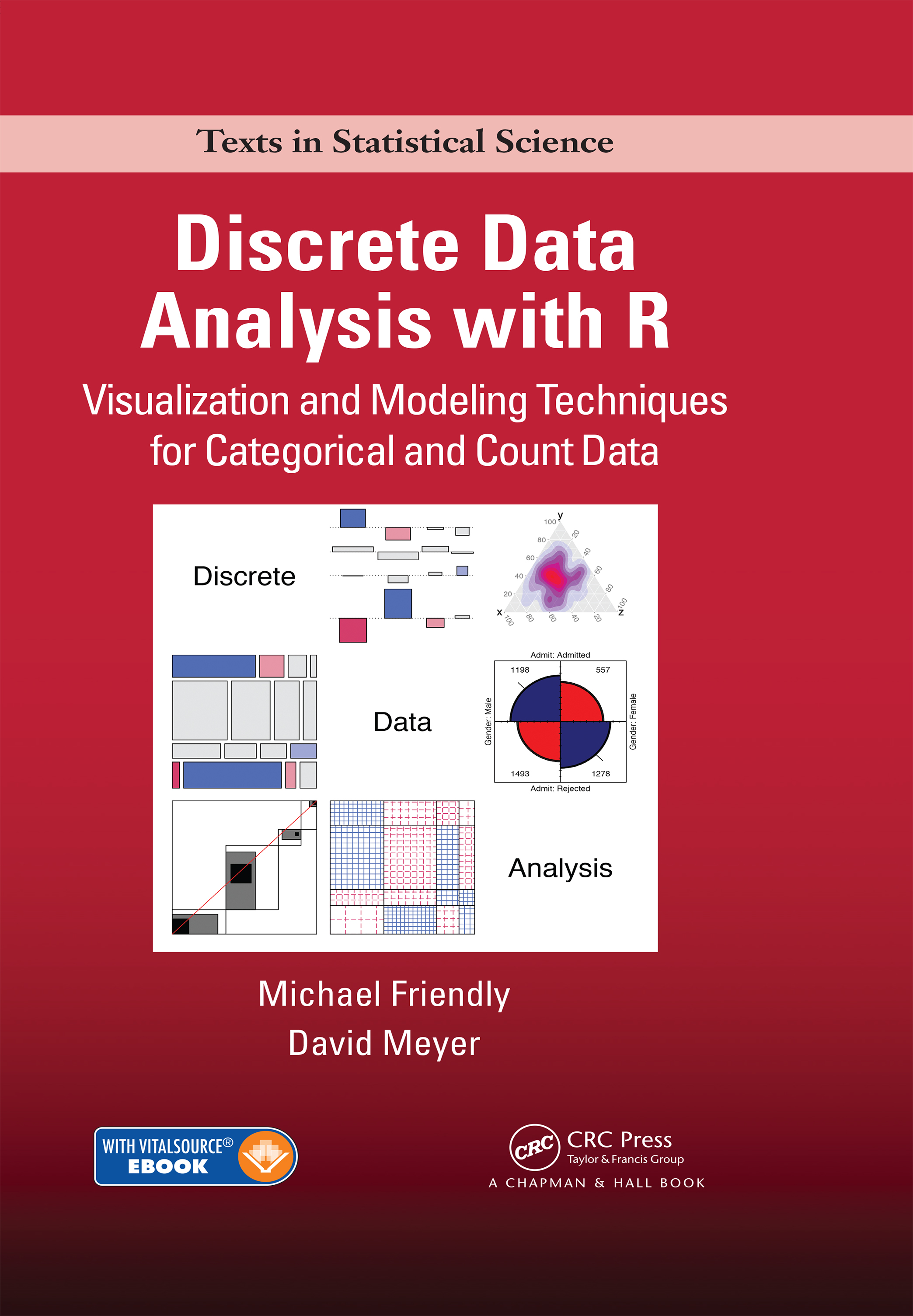 Discrete Data Analysis with R: Visualization and Modeling Techniques for Categorical and Count Data (Pack - Book and Ebook) book cover