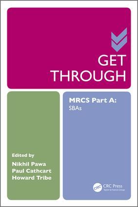 Get Through MRCS Part A: SBAs book cover