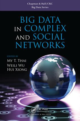 Big Data in Complex and Social Networks: 1st Edition (Hardback) book cover