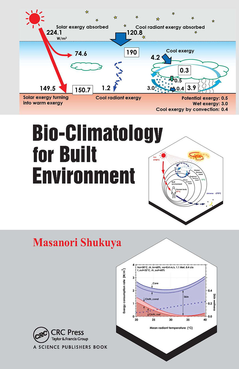 Bio-Climatology for Built Environment: 1st Edition (Hardback) book cover