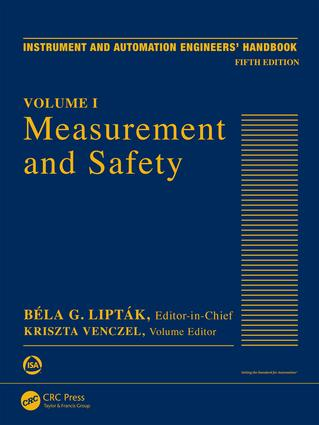 Measurement and Safety: Volume I, 5th Edition (Hardback) book cover