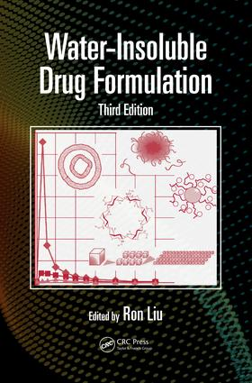Water-Insoluble Drug Formulation: 3rd Edition (Hardback) book cover