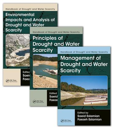 Handbook of Drought and Water Scarcity: (Three-Volume Set), 1st Edition (Hardback) book cover