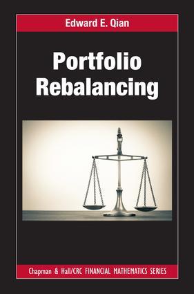 Portfolio Rebalancing: 1st Edition (Hardback) book cover