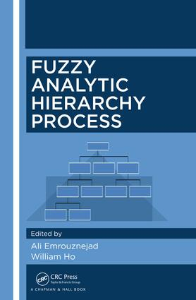 Fuzzy Analytic Hierarchy Process: 1st Edition (Hardback) book cover