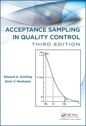 Acceptance Sampling in Quality Control: 3rd Edition (Hardback) book cover