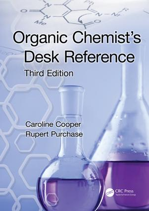 Organic Chemist's Desk Reference: 3rd Edition (Paperback) book cover