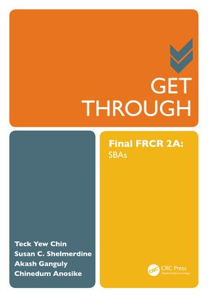 Get Through Final FRCR 2A: SBAs, 1st Edition (Paperback) book cover