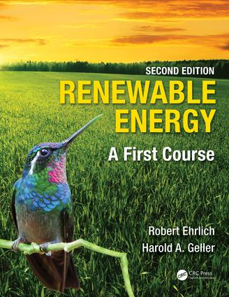 Renewable Energy: A First Course, 2nd Edition (Paperback) book cover
