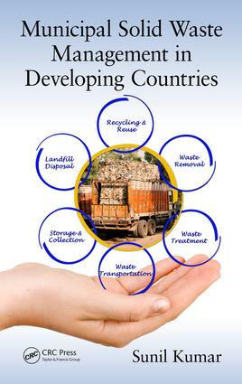 Municipal Solid Waste Management in Developing Countries: 1st Edition (Hardback) book cover