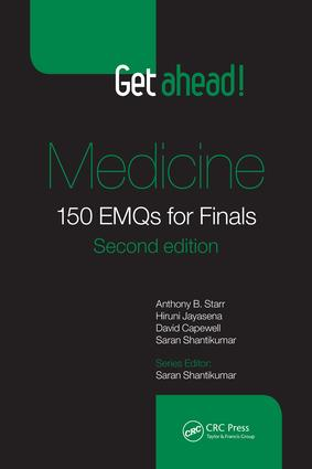 Get ahead! Medicine: 150 EMQs for Finals, Second Edition, 2nd Edition (Paperback) book cover