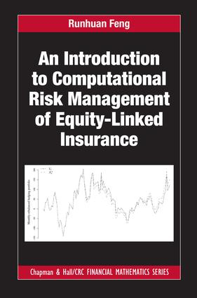 An Introduction to Computational Risk Management of Equity-Linked Insurance: 1st Edition (Hardback) book cover