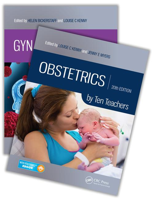 Gynaecology by Ten Teachers, 20th Edition and Obstetrics by Ten Teachers, 20th Edition Value Pak book cover