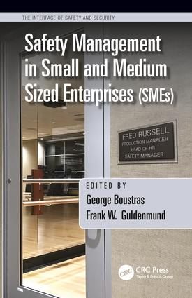 Safety Management in Small and Medium Sized Enterprises (SMEs) book cover