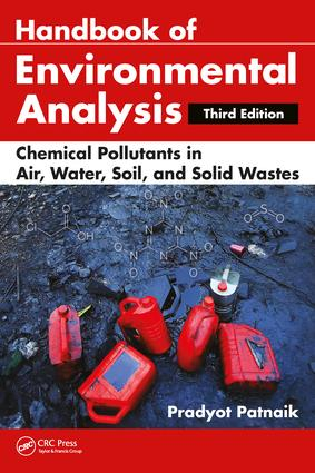 Handbook of Environmental Analysis: Chemical Pollutants in Air, Water, Soil, and Solid Wastes, Third Edition, 3rd Edition (Hardback) book cover