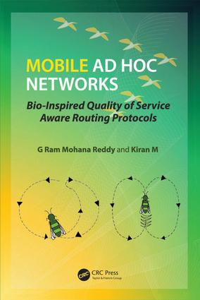 Mobile Ad Hoc Networks: Bio-Inspired Quality of Service Aware Routing Protocols, 1st Edition (Hardback) book cover