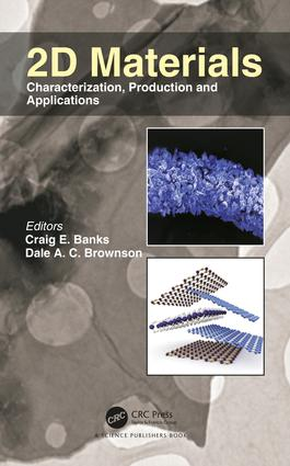 2D Materials: Characterization, Production and Applications, 1st Edition (Hardback) book cover