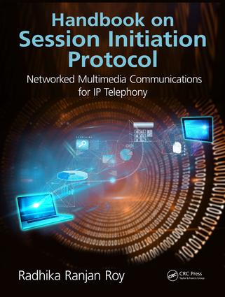Handbook on Session Initiation Protocol: Networked Multimedia Communications for IP Telephony, 1st Edition (Hardback) book cover