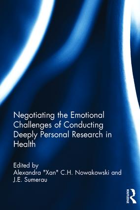 Negotiating the Emotional Challenges of Conducting Deeply Personal Research in Health: 1st Edition (Hardback) book cover