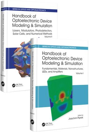 Handbook of Optoelectronic Device Modeling and Simulation (Two-Volume Set): 1st Edition (Hardback) book cover