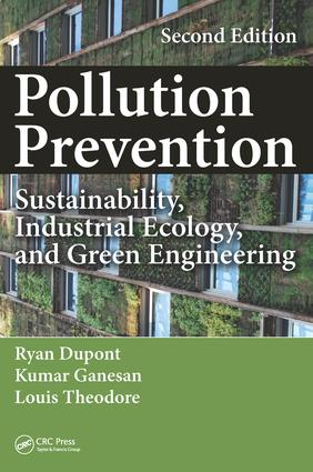 Pollution Prevention: Sustainability, Industrial Ecology, and Green Engineering, Second Edition, 2nd Edition (Hardback) book cover